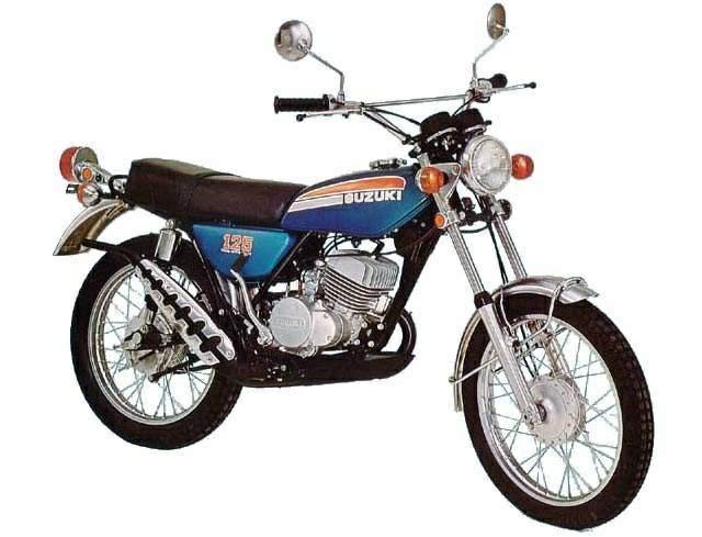 Suzuki TS 125 technical specifications